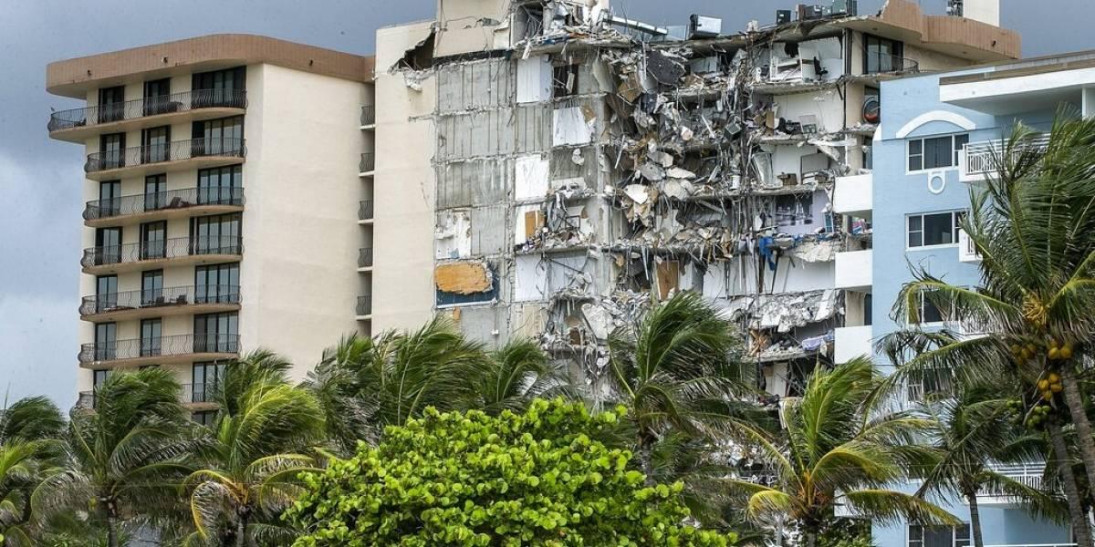 Ingeniero había advertido daños estructurales mayores en edificio colapsado en Miami, revela el NY Times