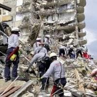 Cinco muertos confirmados en el derrumbe de edificio en Miami
