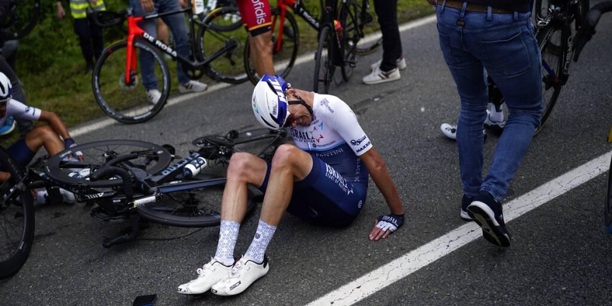Tour de Francia demandará a aficionada que provocó accidente masivo