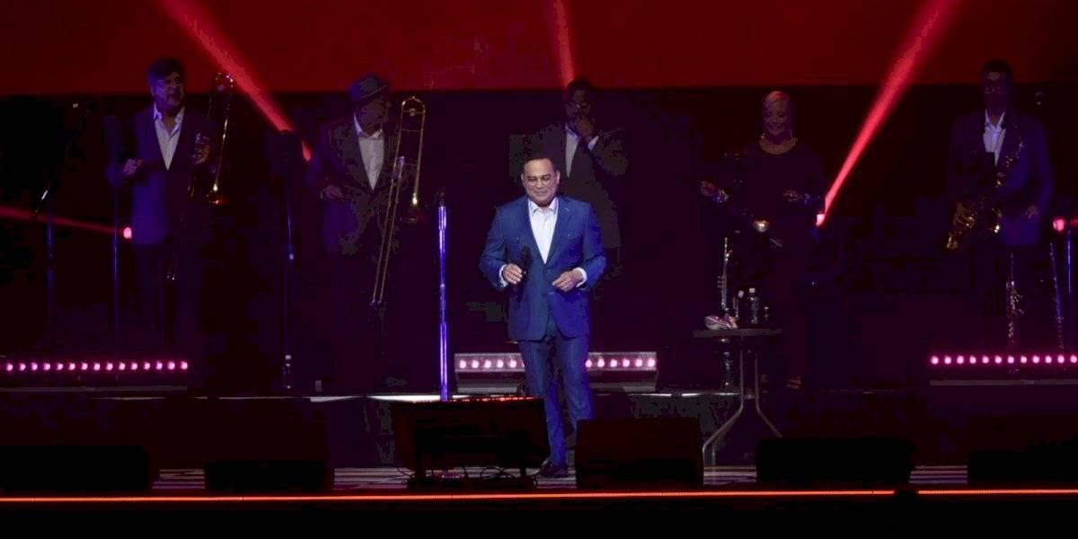 Así reabrió Gilbertito Santa Rosa los conciertos en Puerto Rico