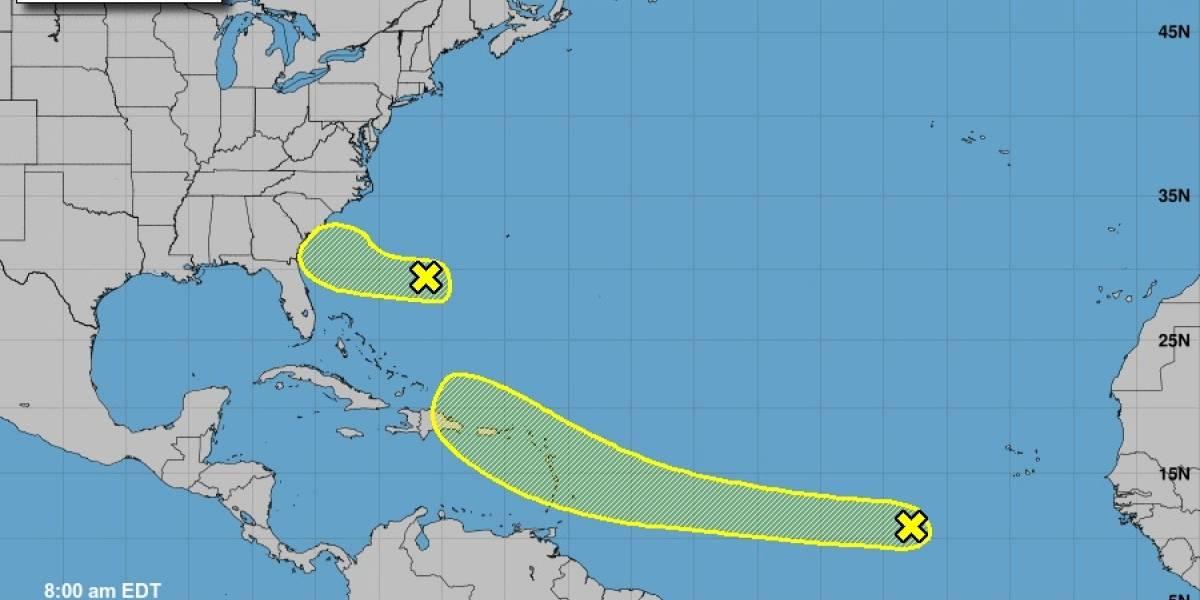 Baja la probabilidad de formación de sistema atmosférico en ruta a Puerto Rico