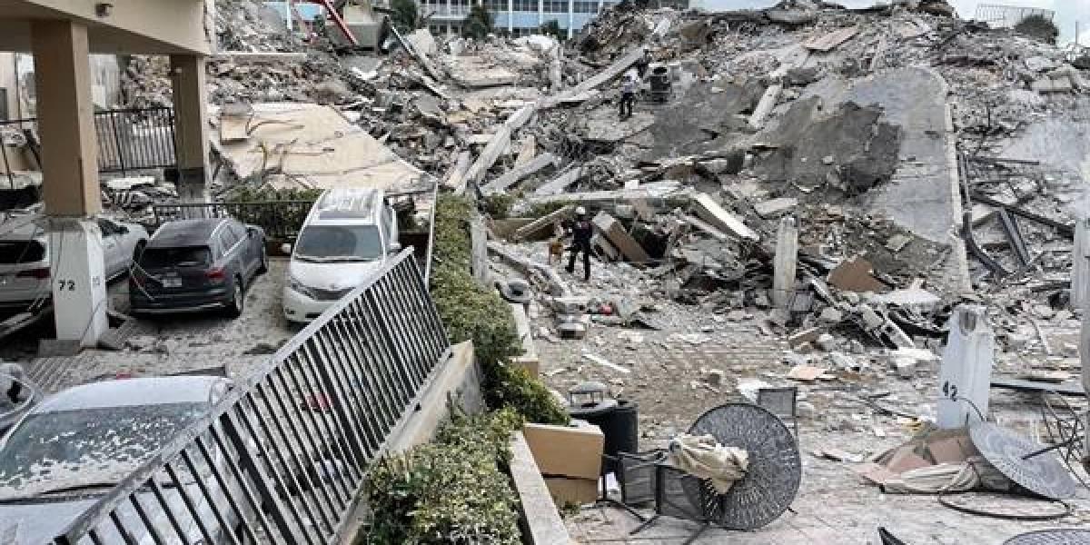 Suben a 78 los muertos por derrumbe en edificio de Miami
