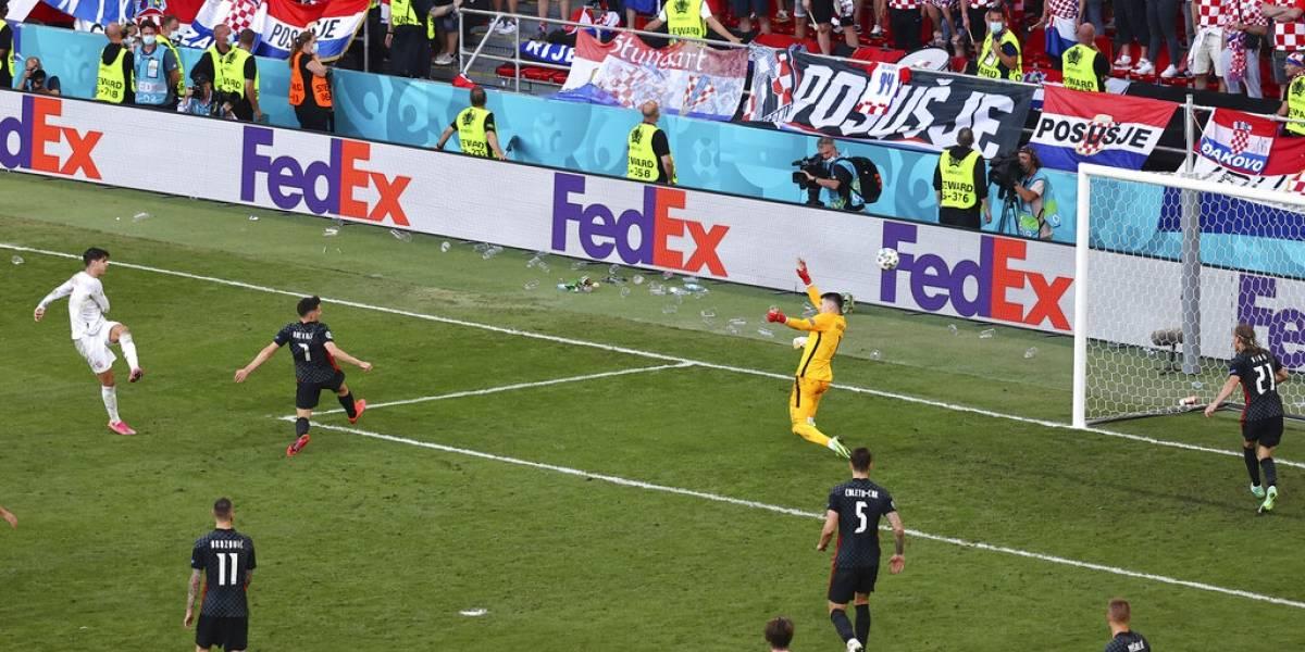 España pasa a cuartos de final en la Eurocopa tras derrotar 5-3 a Croacia