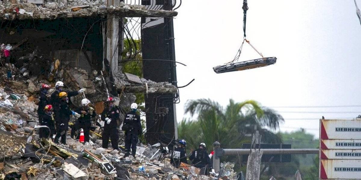 """Edificio derrumbado en Miami fue catalogado en """"buen estado"""" por funcionario local"""