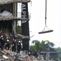 Se eleva a 16 el número de muertos tras colapso de edificio en Miami