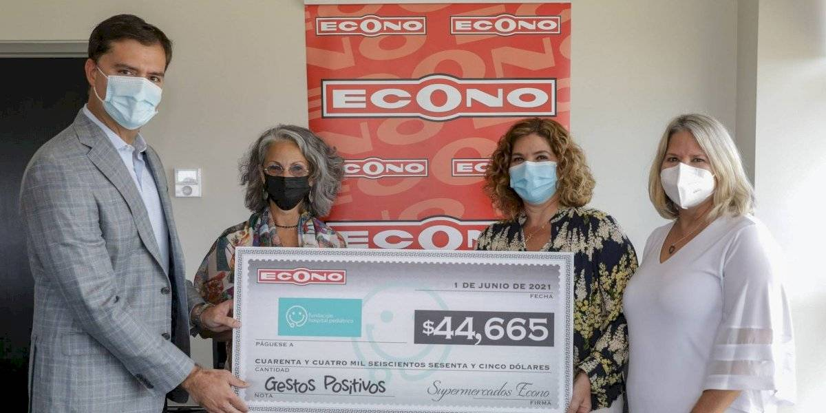 Fundación Hospital Pediátrico recibe donación tras venta de sellos Pacientes Especiales 2021