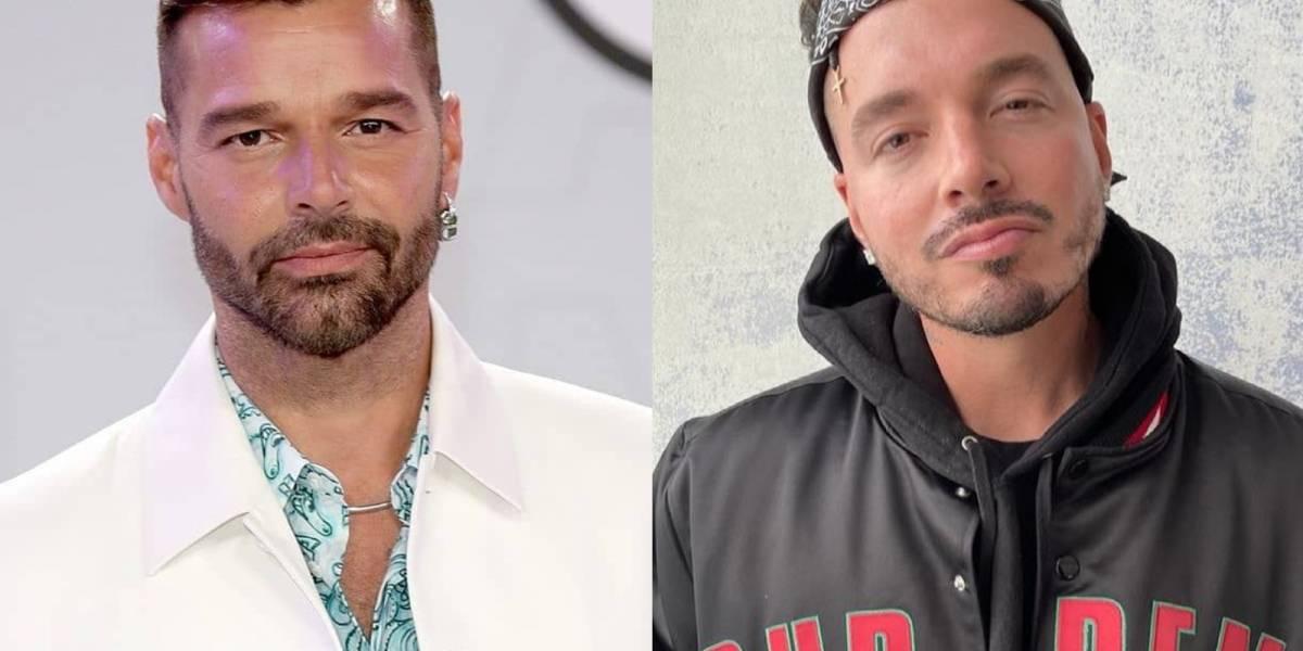 """J Balvin le confiesa su amor a Ricky Martin: """"me casaría contigo"""""""
