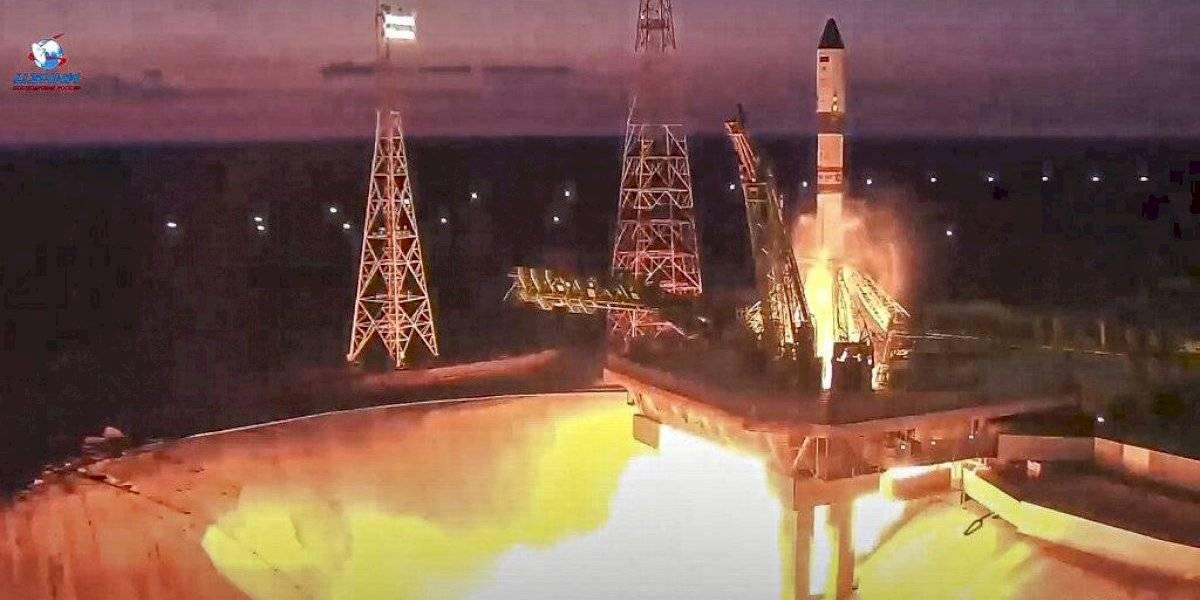 Nave espacial rusa de mercancías despega hacia la EEI
