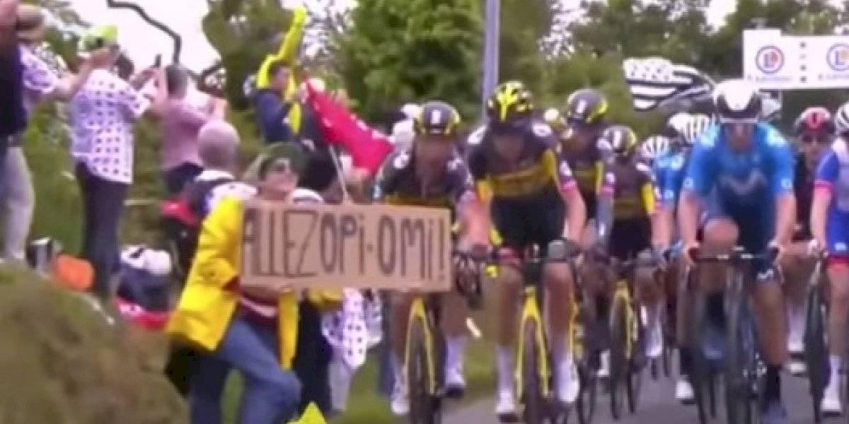 Detienen a fanática que provocó caída masiva en el Tour de Francia