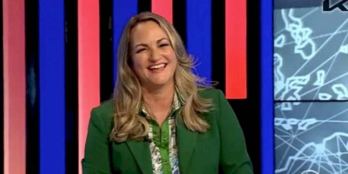 Deborah Martorell comienza a dar el tiempo en TeleOnce