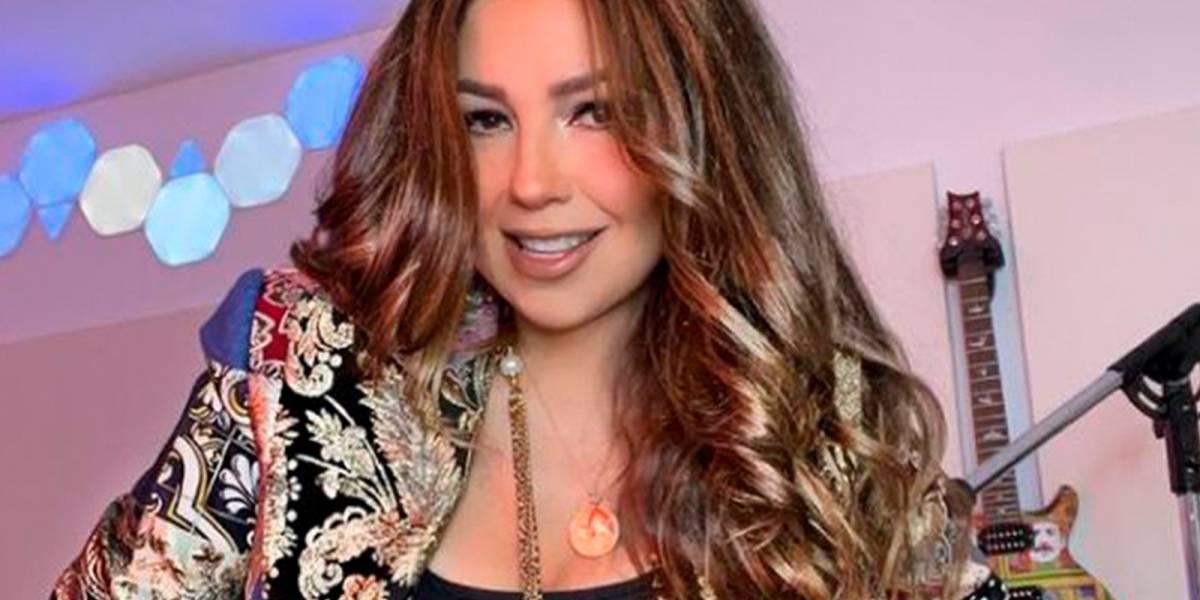 Thalía recuerda su época de recién casada con una foto inédita junto a Tommy Mottola