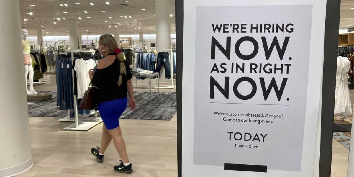 Caen en Estados Unidos las solicitudes de desempleo