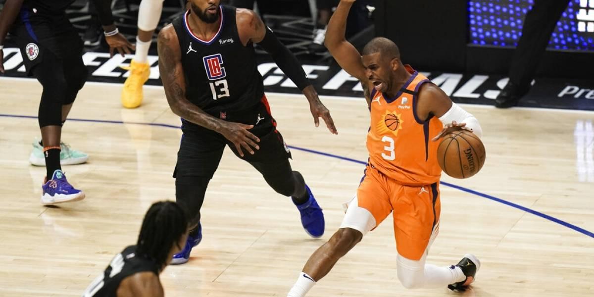 Paul y los Suns eliminan a Clippers y van a Final de la NBA