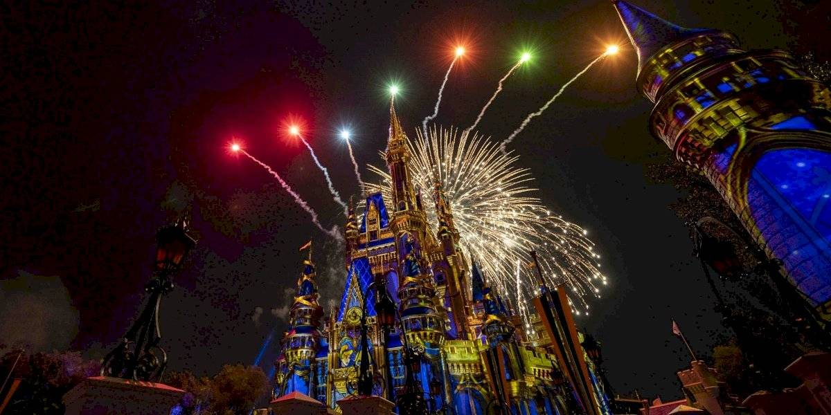Regresan los espectáculos de fuegos artificiales a Walt Disney World Resort
