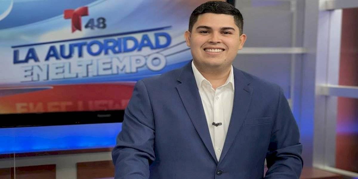 Un boricua es el nuevo reportero del tiempo de Telemundo en California