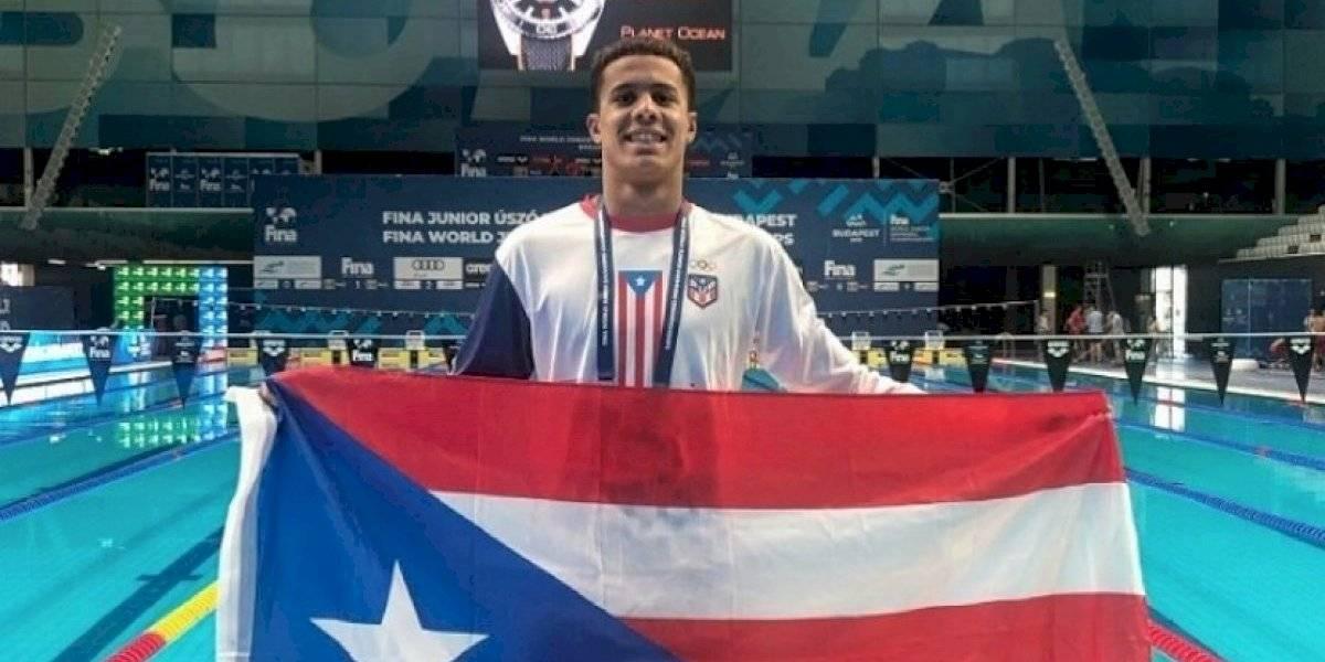 Nadador boricua Jarod Arroyo clasifica a las Olimpiadas de Tokio
