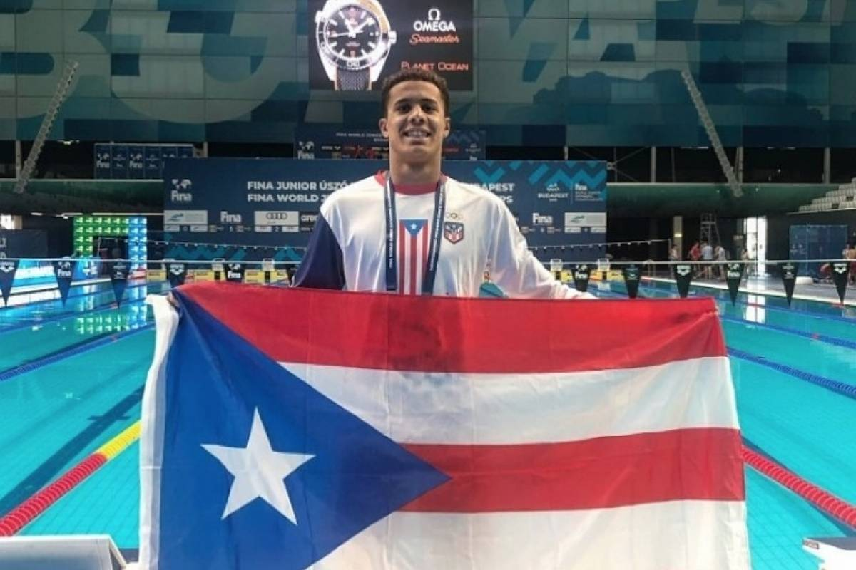 Nadador boricua Jarod Arroyo clasifica a las Olimpiadas de Tokio   Metro