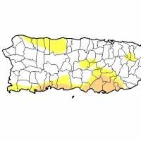 Se reduce de manera significativa el área bajo sequía en Puerto Rico