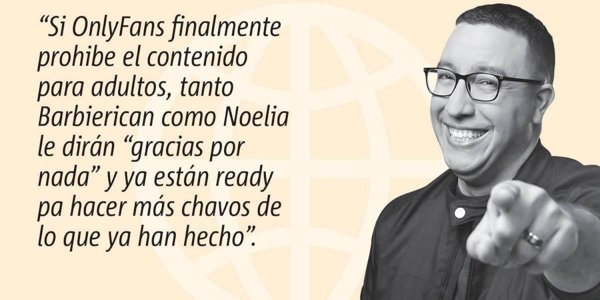 #PrimeroConElNalgo: Only who? Gracias por nada OnlyFans. Noelia y Barbierican están ready pa lo nuevo