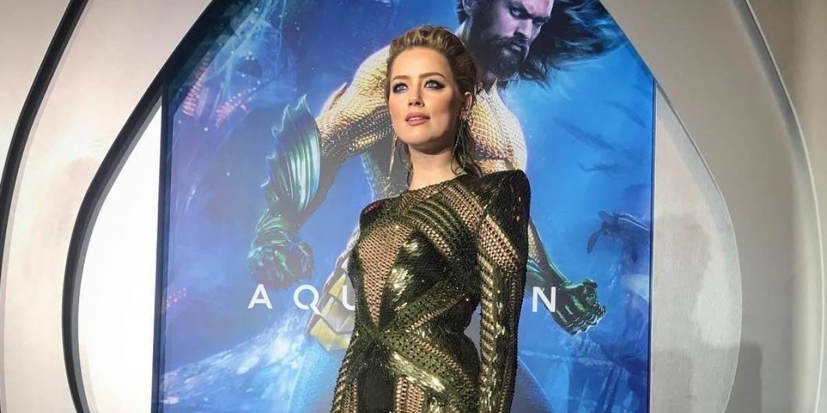 Amber Heard se convierte en madre por vientre de alquiler