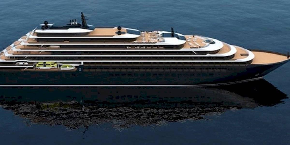 Conoce el Evrima, el lujoso yate de Ritz-Carlton que partirá desde San Juan en su viaje inaugural
