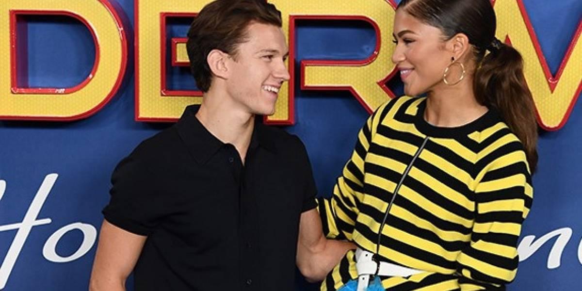 Confirman romance entre Tom Holland y Zendaya con una foto besándose