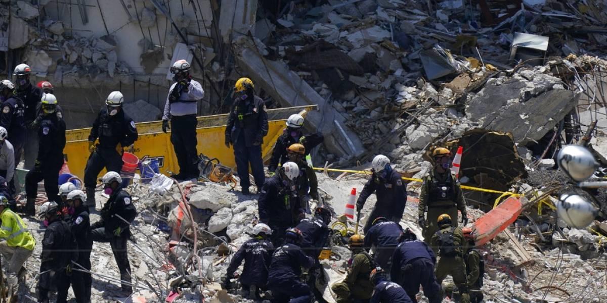 Planean iniciar el domingo demolición de edificio colapsado en Miami