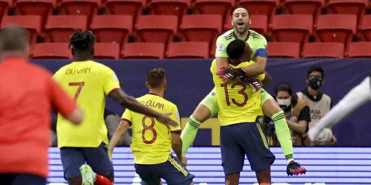 Colombia vence a Uruguay por penales y está en semifinales