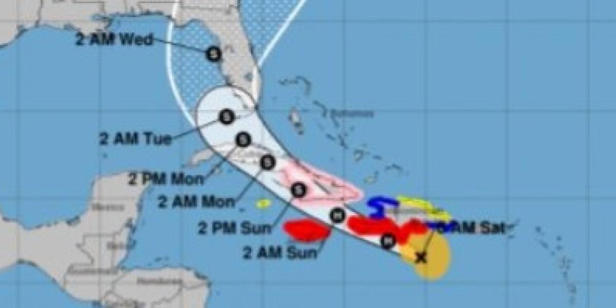 Elsa se mueve al sur de República Dominicana