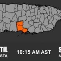 Emiten advertencia de inundaciones para pueblos del sur