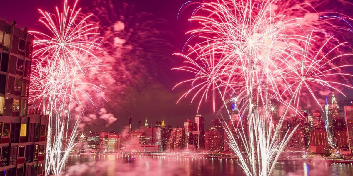 Festejos de 4 de julio en Nueva York, con sabor prepandemia