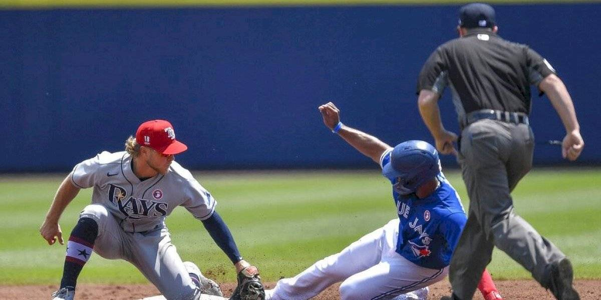 Meadows pega tres hits y Rays salen del bache ante Azulejos
