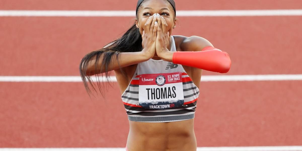 Gabby Thomas, la neurobióloga de Harvard que participará en los Juegos Olímpicos