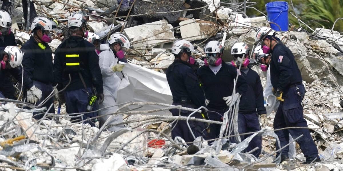 Suben a 79 los muertos por derrumbe en Miami