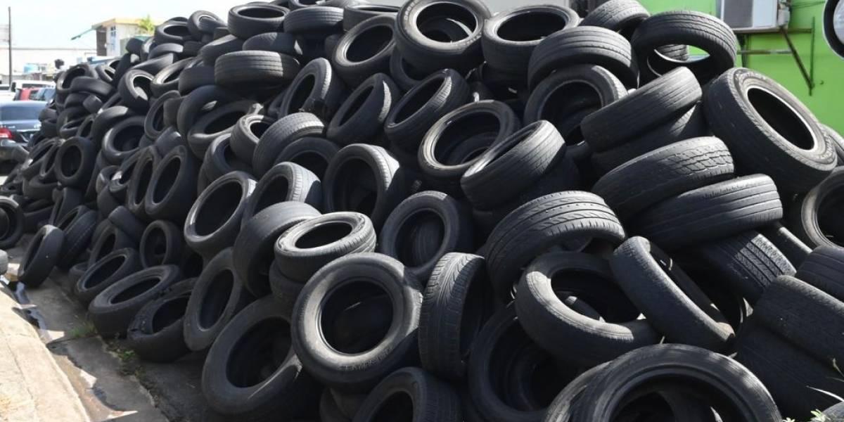 Guardia Nacional activa más efectivos para recogido de neumáticos