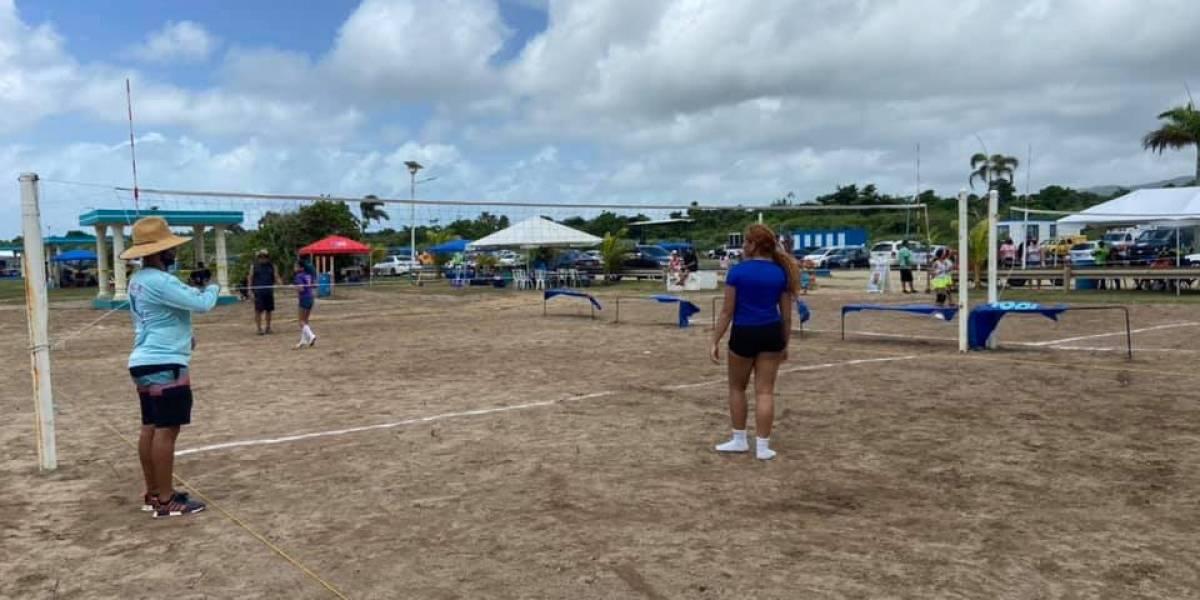Celebran primer festival playero deportivo en Ceiba