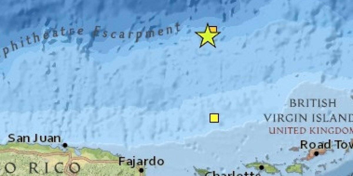 Registran temblor de 3.87 al norte de Culebra
