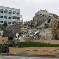 Recuperan otros ocho cuerpos tras colapso de edificio residencial en Florida