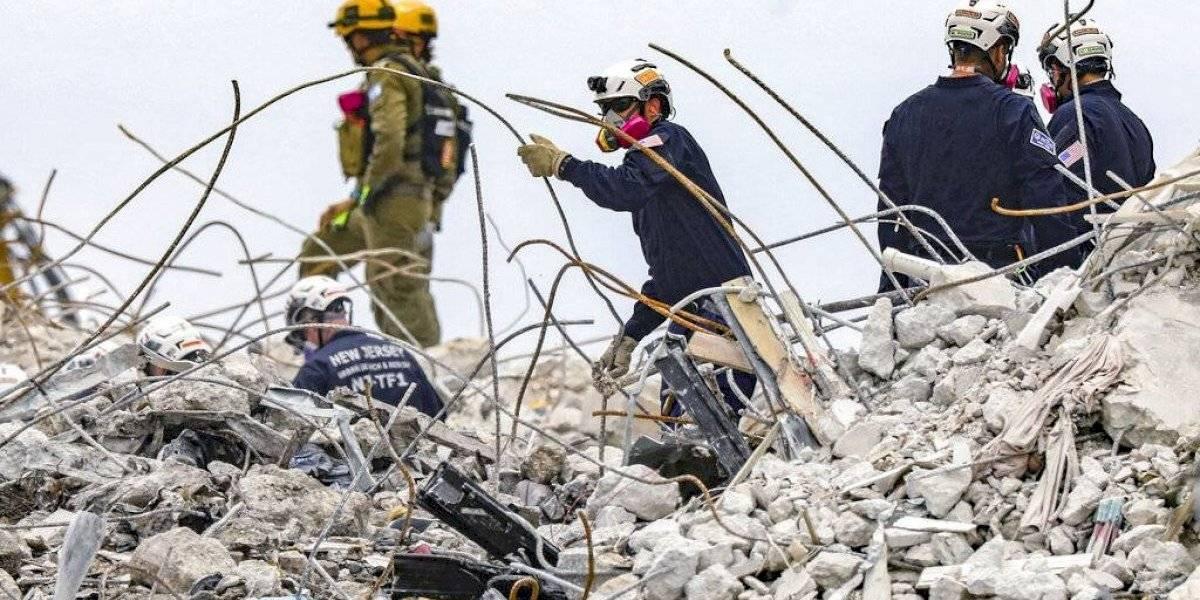 Termina la búsqueda de sobrevivientes tras derrumbe en Miami