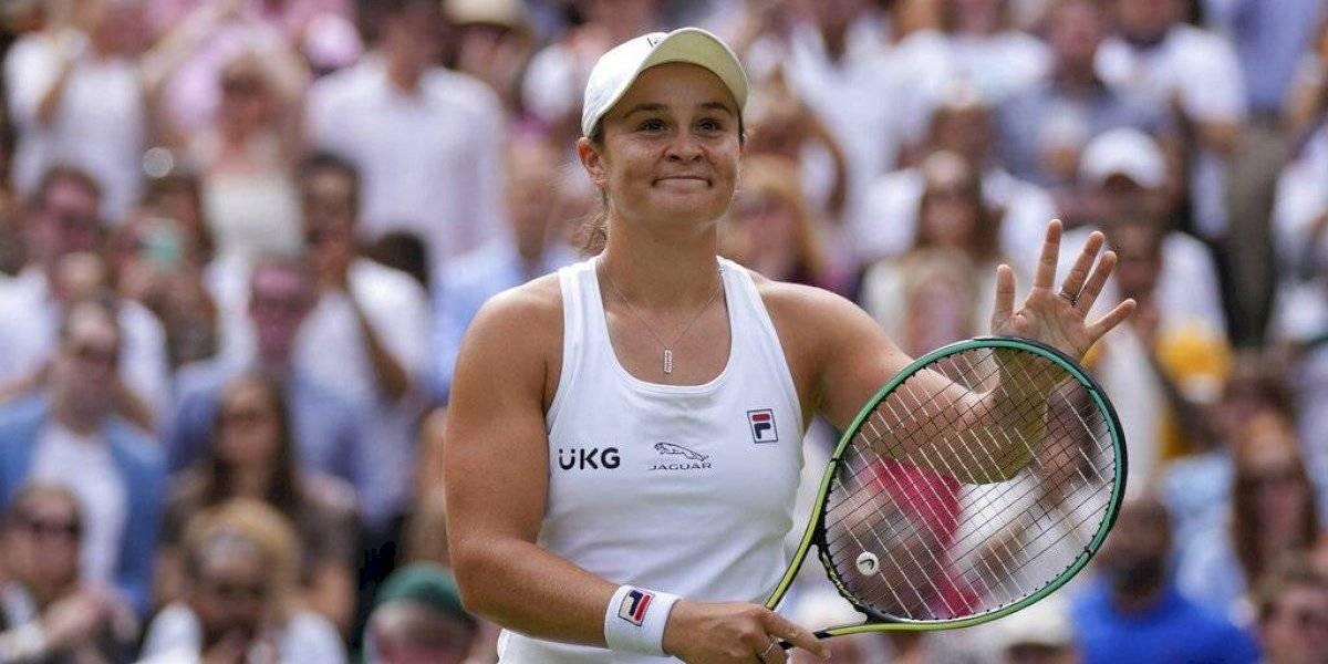 Ash Barty domina a Angelique Kerber y alcanza la final de Wimbledon