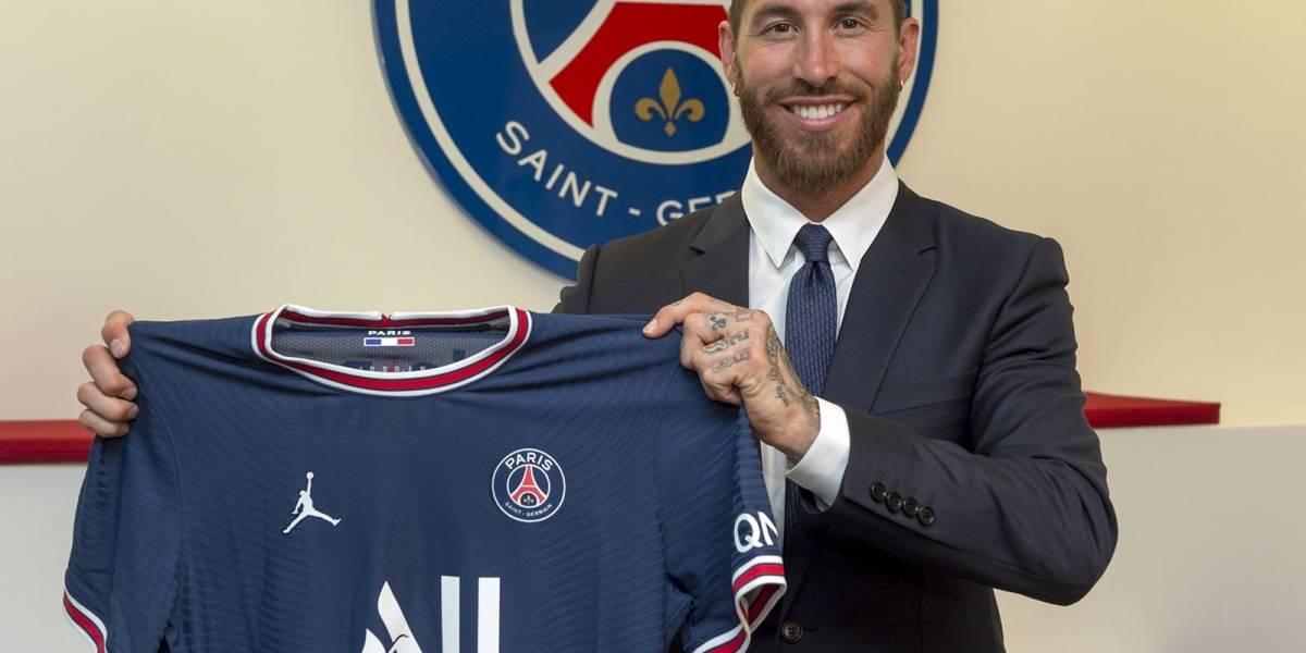 Sergio Ramos es el nuevo jugador del París Saint Germain