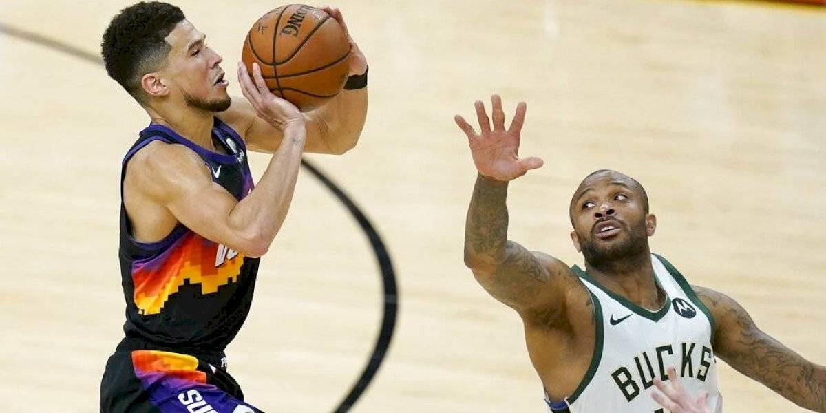 Suns derrotan a los Bucks y toman ventaja de la serie final NBA