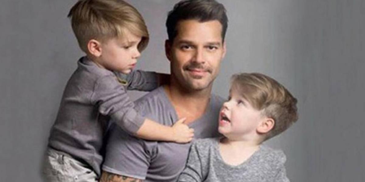 Las fotos de Ricky Martin junto a sus hijos que dejan claro que formó una hermosa familia