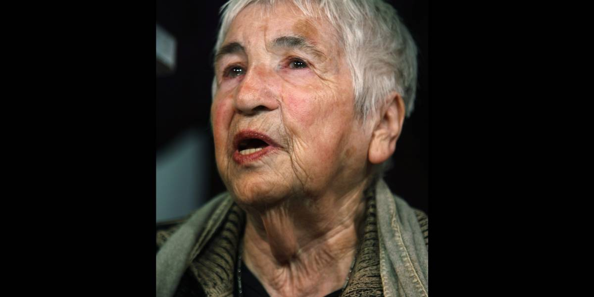 Fallece activista contra el antisemitismo Ester Bejarano