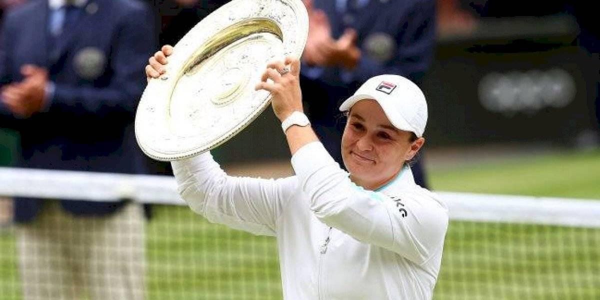 Ashleigh Barty conquista su primer título de Wimbledon