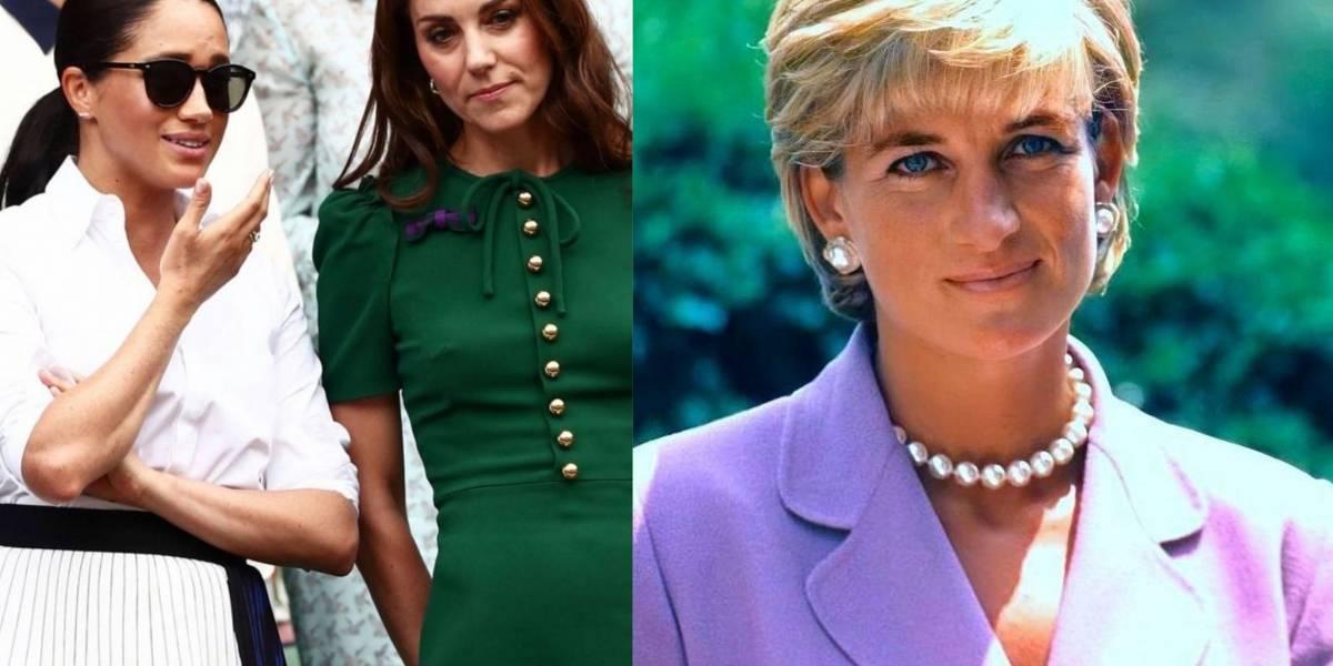 Los looks con los que Meghan Markle y Kate Middleton han hecho homenaje a Diana de Gales