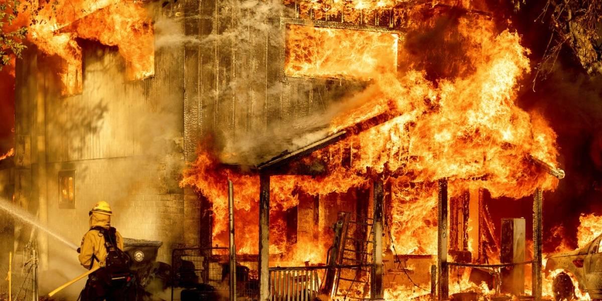 EEUU: Incendios arden en varios estados bajo ola de calor