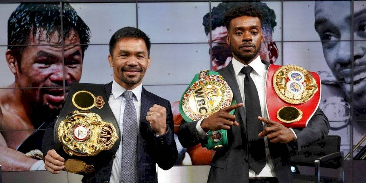 Manny Pacquiao anuncia una pelea con Errol Spence Jr.
