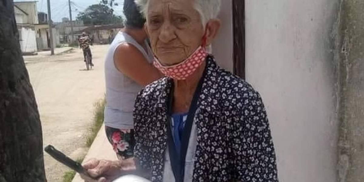 """La anciana que desafía al régimen de Cuba: """"Estoy aburrida de pasar hambre"""""""