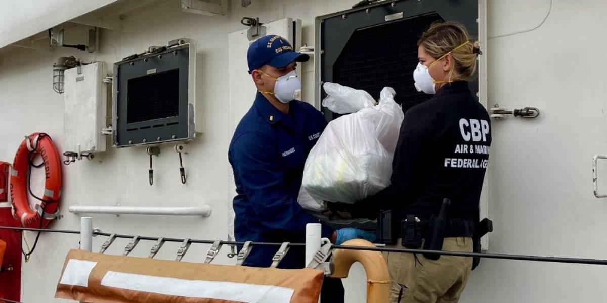 Guardia Costera incauta cerca de $15 millones en cocaína tras operativo en el Paseo de la Mona